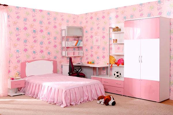 Дизайн для девочек разных возрастов