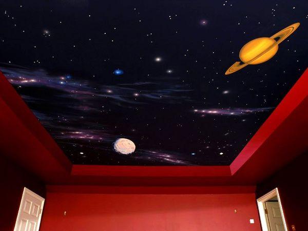 фотообои на потолок фото