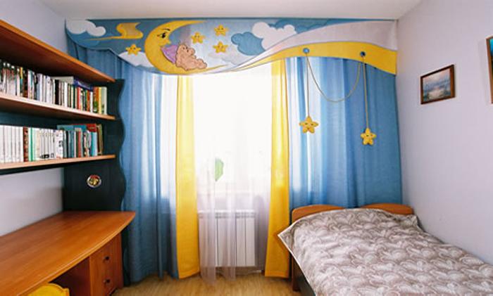 Ламбрекены для детской комнаты фото
