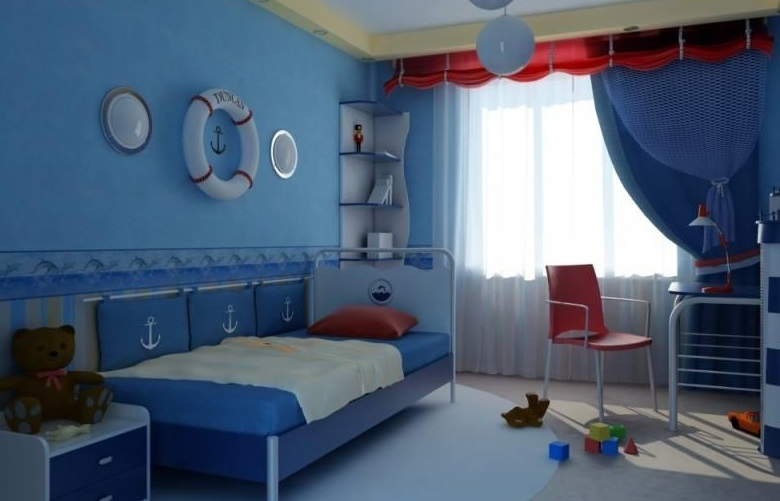 Дизайн детской для девочек разных возрастов 21