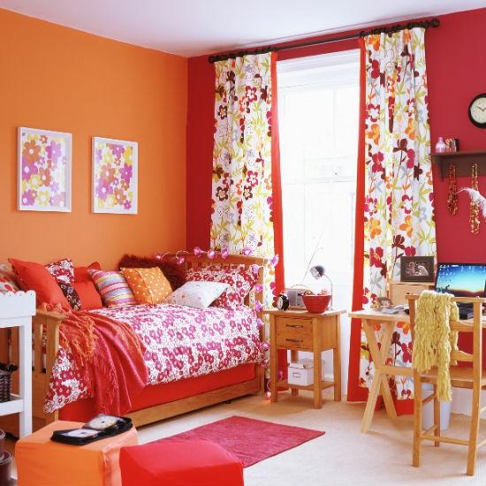 Занавески для детской комнаты девочки
