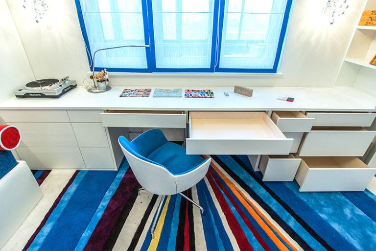 Дизайн подоконник стола