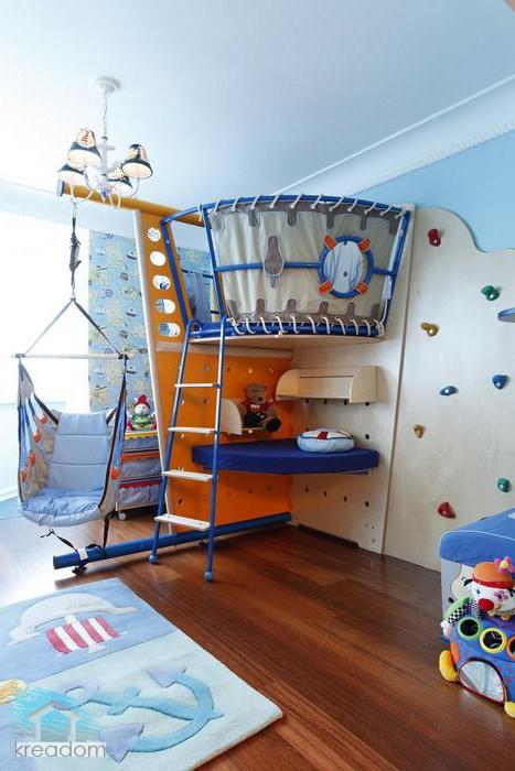 уголок для ребенка в однокомнатной квартире фото
