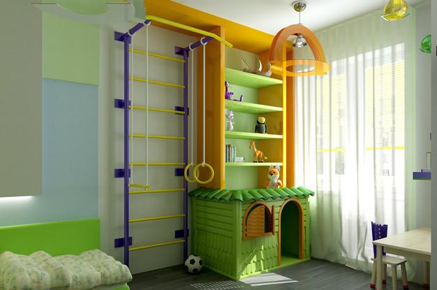 детские комнаты для двоих детей дизайн фото варианты планировки