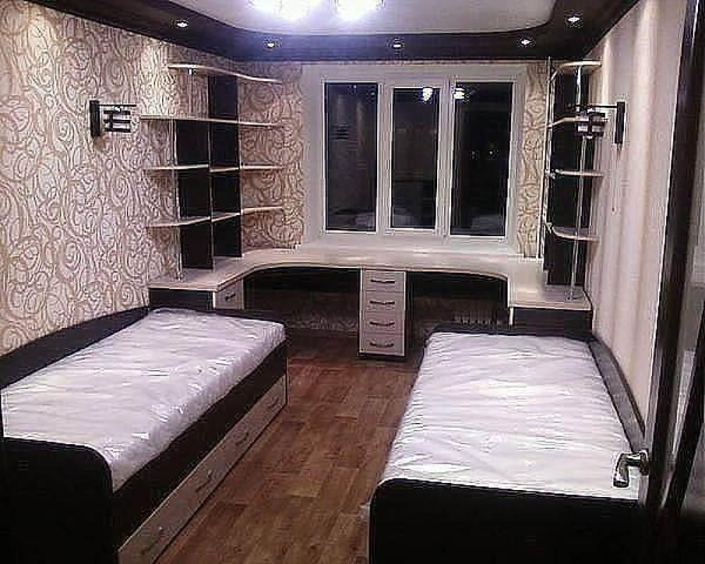 Детская комната для двоих детей Школа m