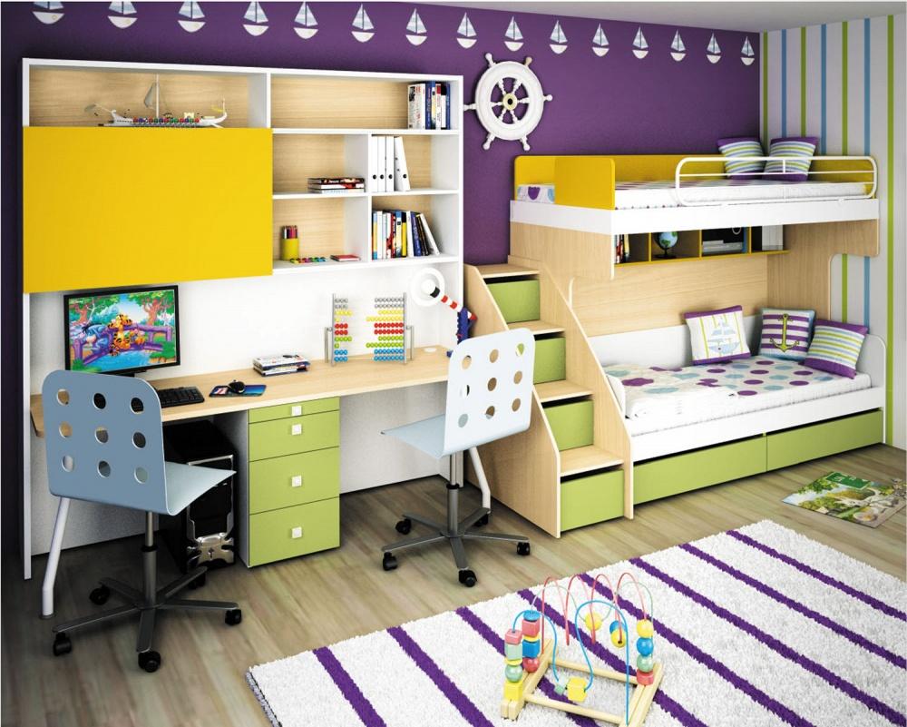 Как выбрать кровать чердак с рабочей зоной для подростка
