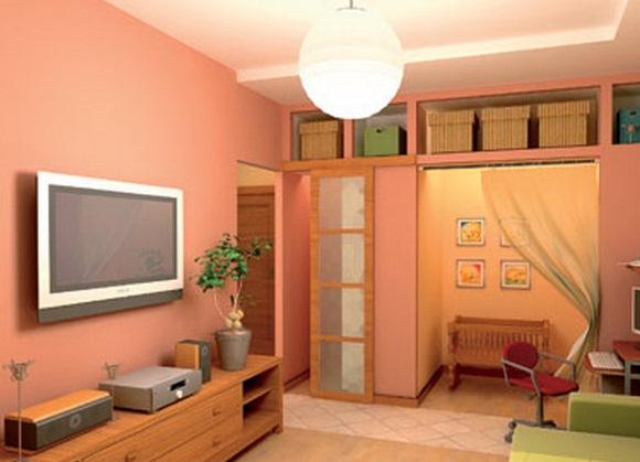 Как обставить однокомнатную квартиру с ребенком функционально 83