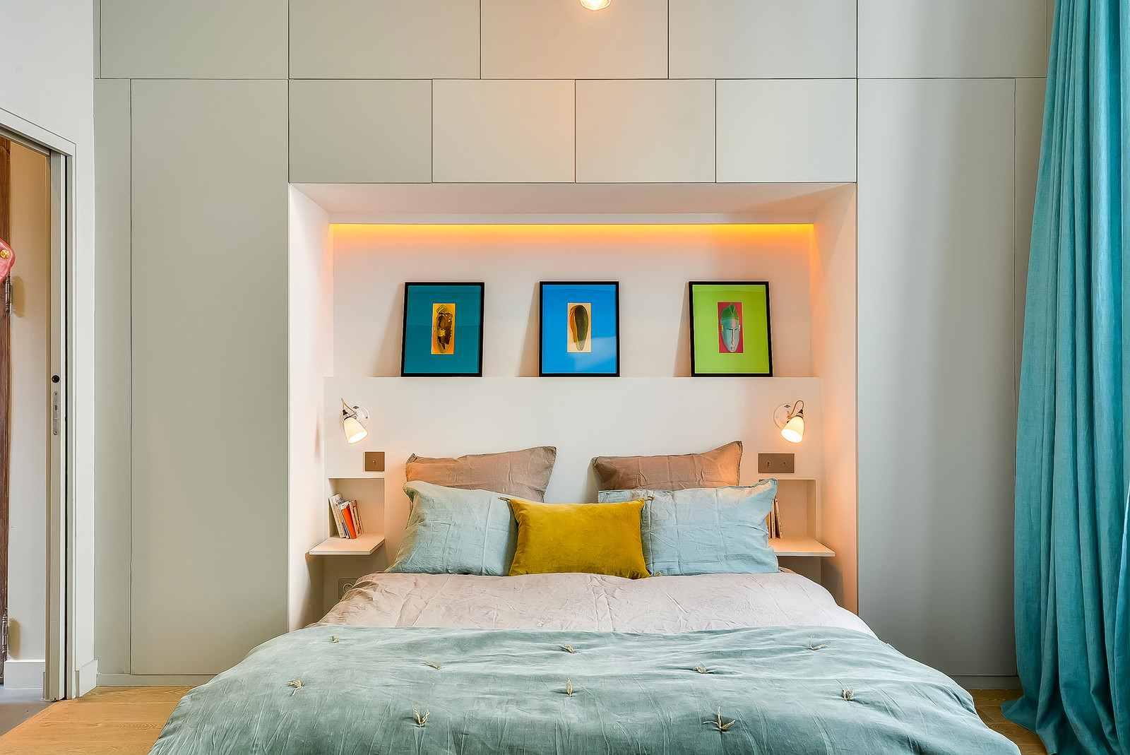 Дизайн комнаты 12 кв м для спальни