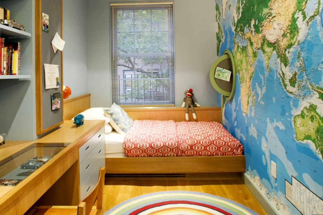 Дизайн маленькой спальни в детской