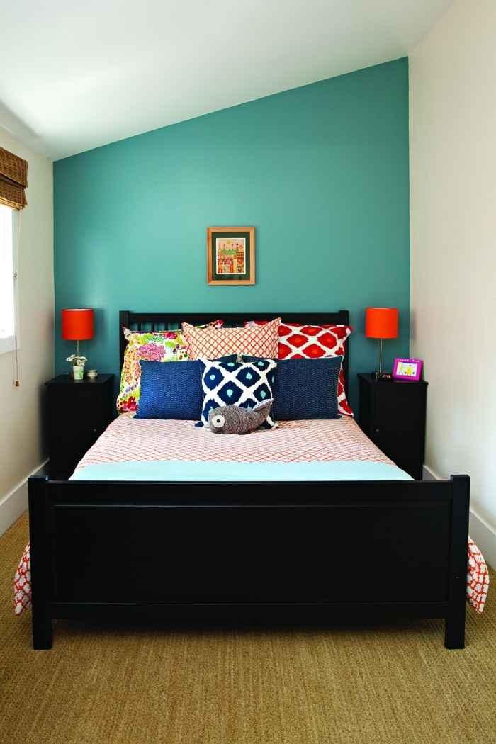Cпальня в комнате 6 кв м