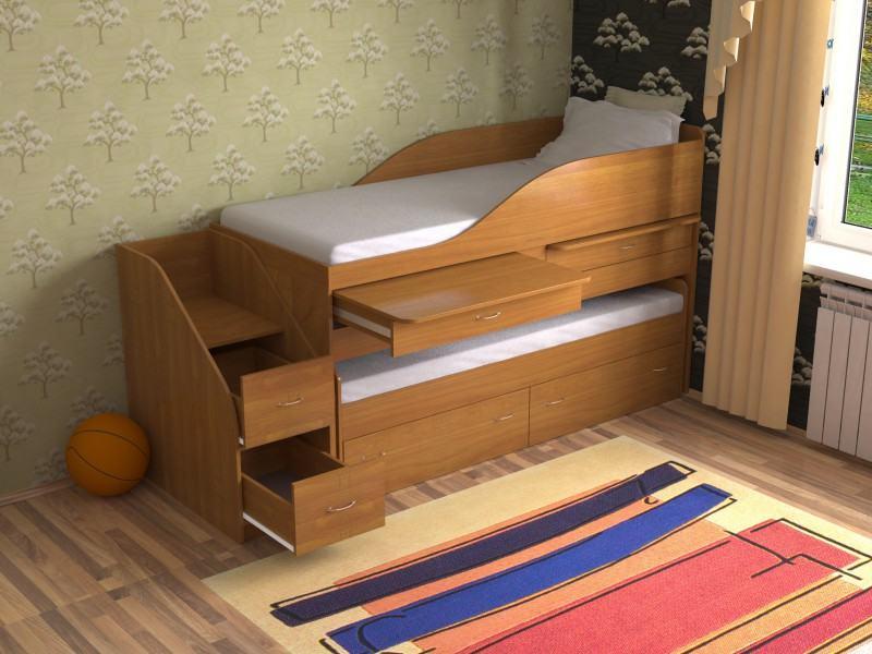 Многоуровневая кроватка