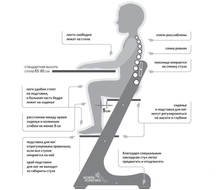 Преимущества стульчика с регулировкой