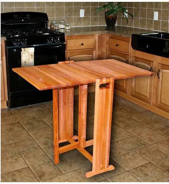 Самодельный складной стол