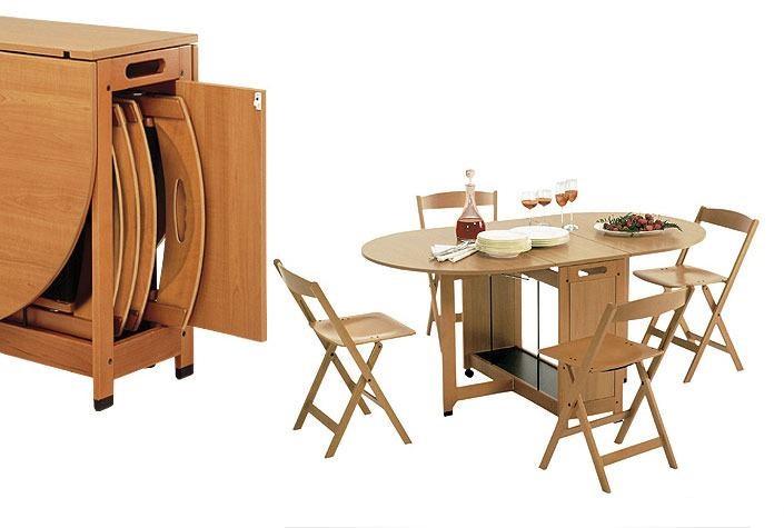 Комплект складной мебели для кухни