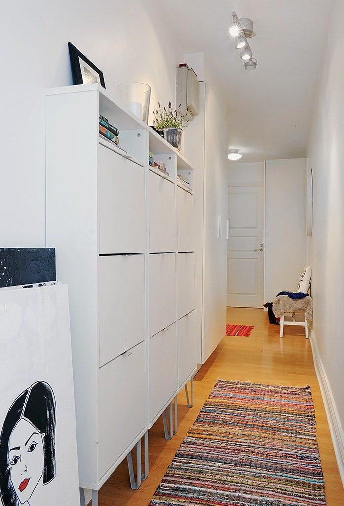 неглубокий шкаф