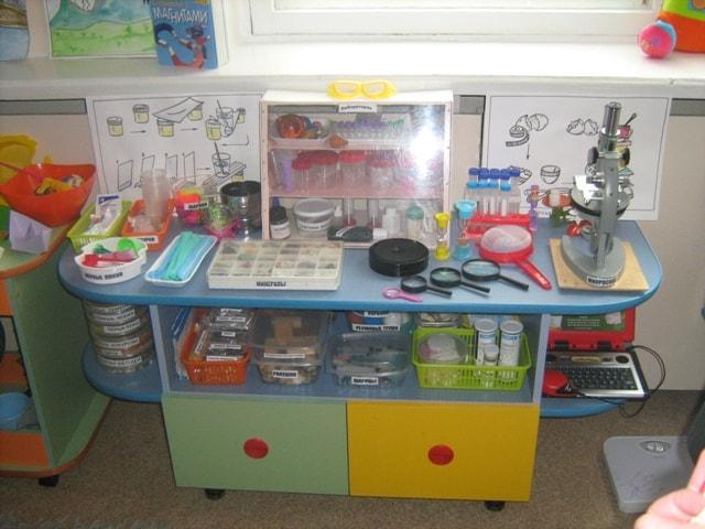 детская лаборатория