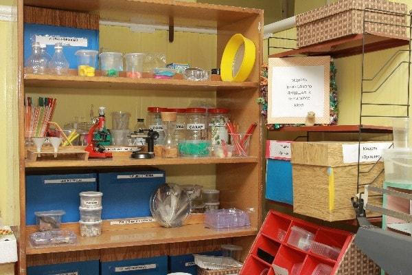 детский лабораторный шкаф